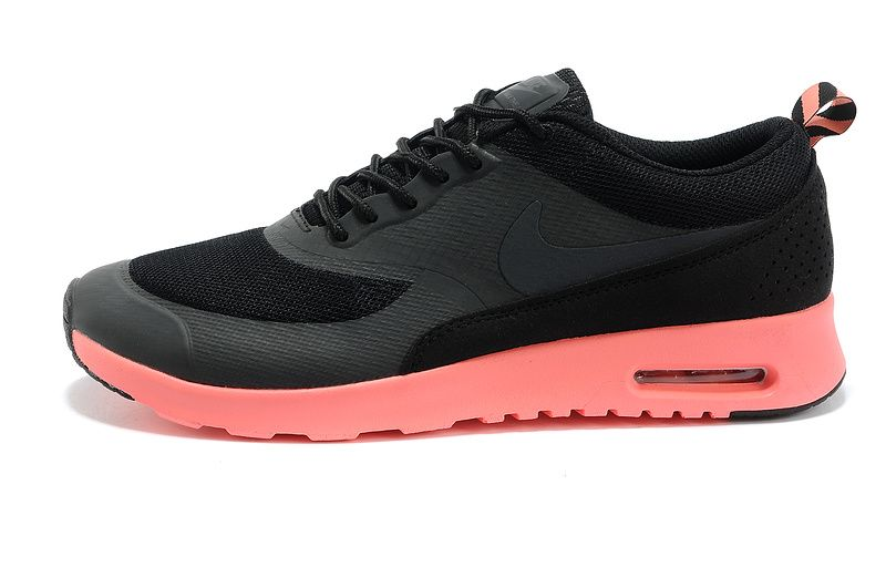 online store 5ad22 382e0 Nike Air Max Thea Homme Noir Rouge Saumon Feyamagic Offre  62458065
