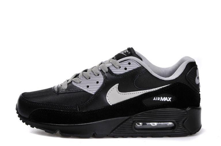 différemment ed29d 33a9a Nike Air Max 90 Essential Homme Gris Noir Feyamagic Offre ...