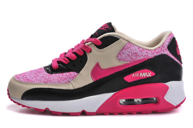 Feyamagic [62458386] Nike Air Max 90 Fleurs Femme Peach Pas Cher