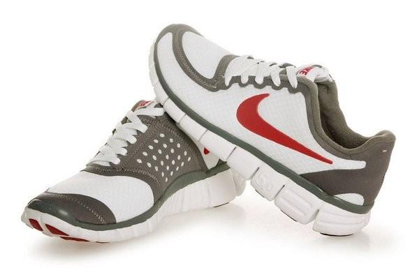 competitive price cd43d b437d Nike Free 5.0 V4 Chaussures de Course Pied pour Homme Blanc Brun Rouge