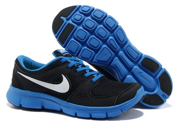 purchase cheap 1e4e0 bd52b Nike Flex Experience Chaussures de Training Pour Homme Noir Bleu Blanc