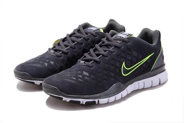 premium selection 23c00 96c47 Nike Free TR Fit Chaussures de Course Pied Pour Homme Marine Vert  jaune Blanc